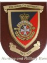 Bermuda Regiment 1965-2005 Military Wall Plaque Shield